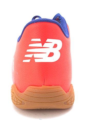 New Balance Mens Msfudiwo Top In Pizzo Bianco Da Corsa Sneaker Bianco / Fiamma / Blu Oceano
