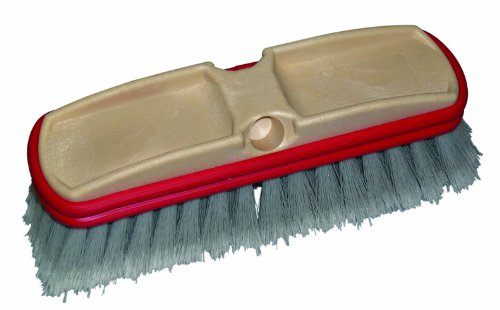 O-Cedar Commercial Vehicle Washing Brush with Feather-Tip, 10-Inch