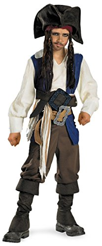 Deluxe Captain Jack Sparrow Costume - X-Large