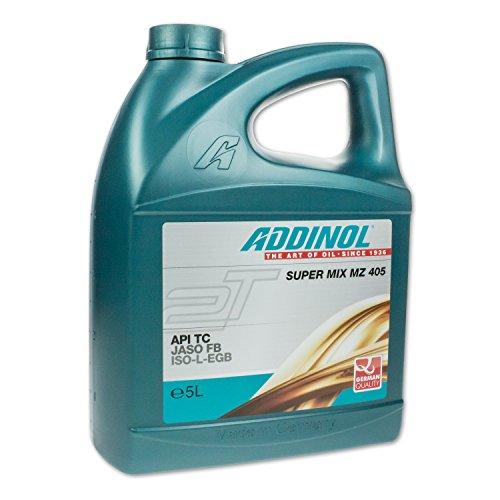ADDINOL SUPER MIX MZ 405 (rot gefärbt) 2T, 5 Liter