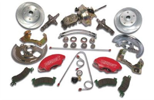 (SSBC A123-1A Front Drum to Disc Brake Conversion Kit)