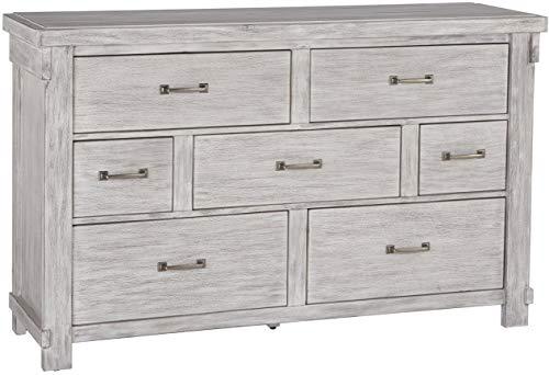 (Signature Design by Ashley B740-31 Brashland Dressers, White )