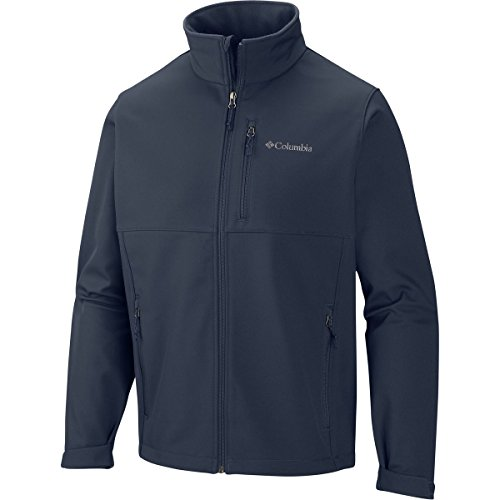 Columbia Men's Ascender Softshell Jacket, Collegiate Navy, - Jacket Blue Columbia Men