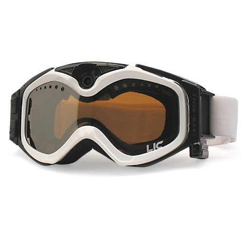 Liquid Image Video (The Liquid Image XSC Summit Series 335W HD Snow Goggle with Integrated True POV HD Video Camera with 1.5x Optical Zoom and 1-Inch LCD Screen - White)