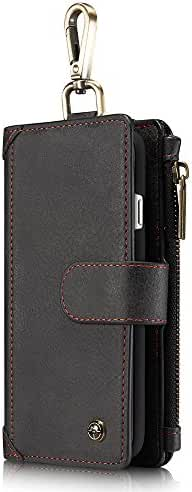 Genuine Leather wallet for Men/Women with mens phone wallet cases iphone 6s / 6plus/ 6s plus/i 7/7plus cases,Key credit card wallet case