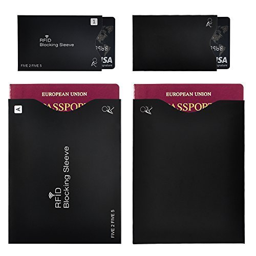 Amazon.com : 16-Pack RFID Blocking Sleeves Credit Card ...