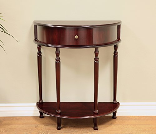 Frenchi Home Furnishing End Table/Side Table, Espresso Finish (Console Table Bedroom)