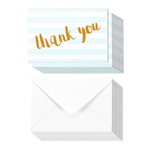 48 Thank You Cards Bulk Assortment