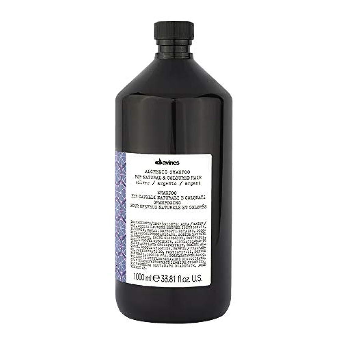 信頼性調和のとれた聴覚ダヴィネス Alchemic Shampoo - # Silver (For Natural & Coloured Hair) 1000ml/33.81oz並行輸入品