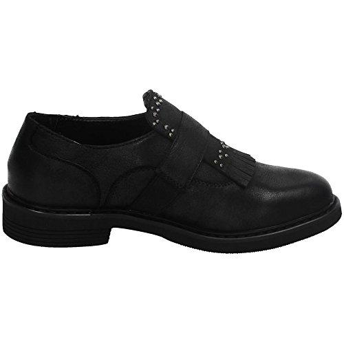 XTI 46346 Mocasines con Flecos Mujer Zapatos MOCASÍN: Amazon.es: Zapatos y complementos