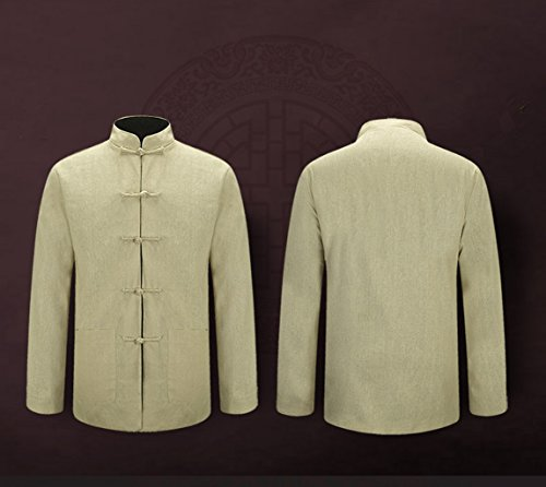 Tang Suit National Costume Individuality Retro Jackets Coats Men's dress Full dress Gentleman by BAOLUO-Tang Suit (Image #1)