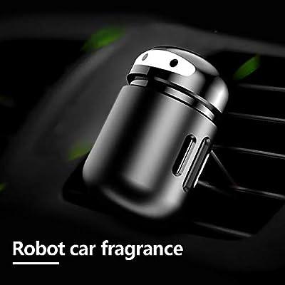 HJDQ Portable del Coche de Aromatherapy - Forma Robot Esencial de ...