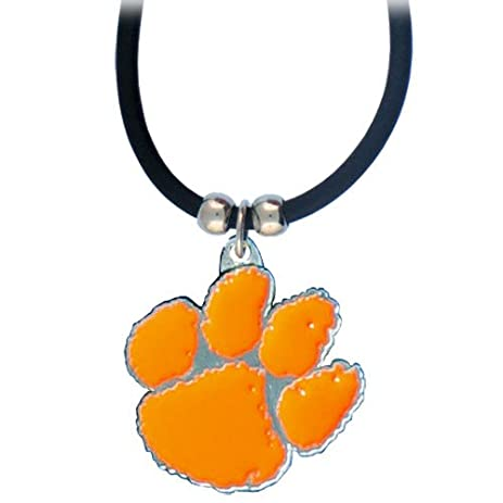 Amazon clemson pendant necklace sports fan necklaces clemson pendant necklace aloadofball Images