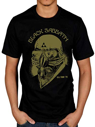 Xxl Band Shirts (Official Black Sabbath US Tour 78 Avengers T-Shirt)