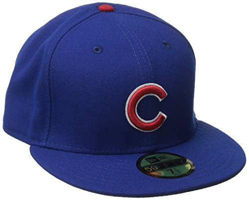 New 2016 Collection - New Era Men's Chicago Cubs Game AC On Field 59Fifty, Royal, 7 1/4