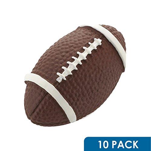 10 Pack Rok Hardware Go Team Collection Football Sport Cabinet Kitchen Home Decor Hardware Drawer Door Knob 2-1/16