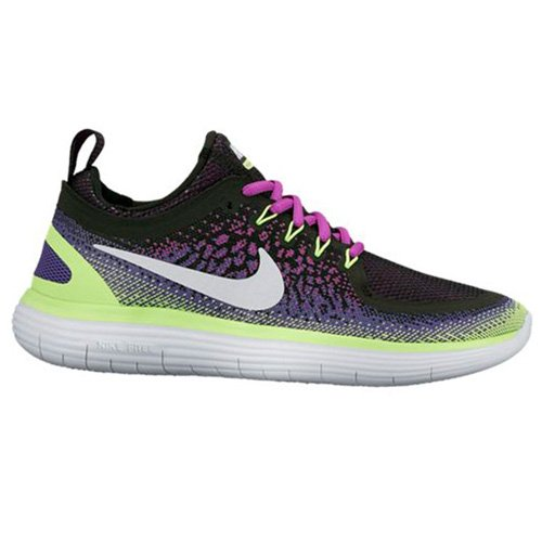 Free Morado Distance 2 Mujer Beige Violet para Green Iris ghost Running Zapatillas de white Hyper dark Nike Wmns Rn pwqfgf