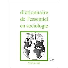 Dict.de l'essentiel en sociologie