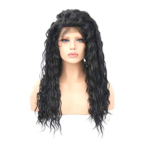 翻訳句読点不注意Summerys 女性のための長い巻き毛のかつらかつらかつらと人工的な毛髪のかつら本物の髪として自然なかつら (Size : 16inch)