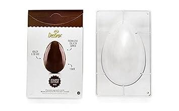 DECORA Decorar los Huevos con 1 Molde de cavidad, de policarbonato, Transparente, 500 g, 260 x 175 mm: Amazon.es: Hogar