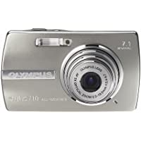 Olympus Stylus 710 7.1MP Ultra Slim Digital Camera with 3x Optical Zoom (Silver)