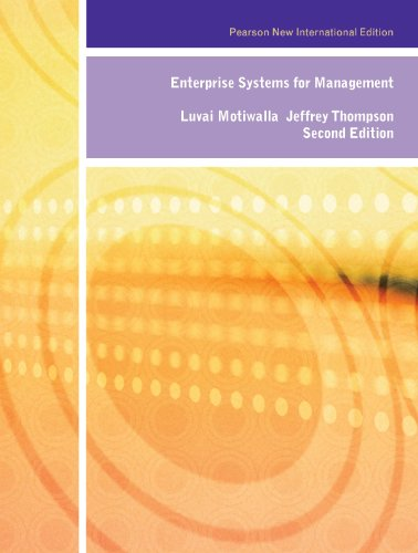 Amazon. Com: enterprise systems for management: pearson new.