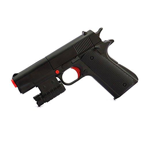 Ferbixo Kid Toy Gun Realistic 1:1 Scale Colt M1911A1 Rubber Bullet Pistol Mini - Pistol M1911a1