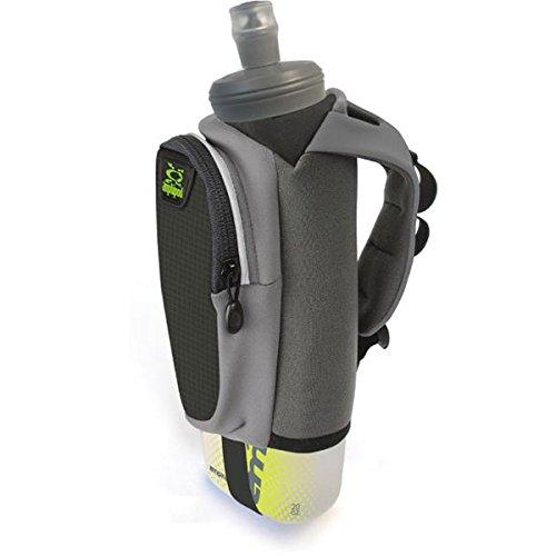 Amphipod Hydraform Soft-Tech Handheld 20 ounce, Charcoal/Black, One Size