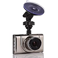 Car Dash Cam with Ultra Thin 3 Inches FHD 1080P Kirsite , LECCER 170°Wide Angle Car Recorder with G-sensor, WDR/HDR,Motion Detect,Loop Recording,Superior Night Mode