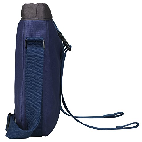 Superzero Water Resistant Canvas Messenger Shoulder Bag for MenWomen Vintage Business Laptop Computer Bag Fit Laptops 13 14 and up to 15.6 Inches