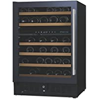 (DR) NFINITY PRO S Dual Zone 46-Bottles Wine Cellar, Wine Cooler w/ Glass Door Left (S1011)