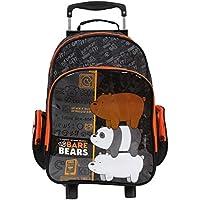 Mala Escolar G com Rodinhas Ursos Sem Curso, 49144, DMW Bags