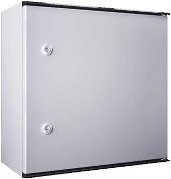 Rittal 1444.500 caja eléctrica Acero IP66 - Caja para cuadro eléctrico (400 mm, 200 mm, 400 mm): Amazon.es: Bricolaje y herramientas