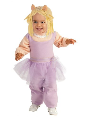 The Muppets Toddler Girls Miss Piggy Costume (Miss Piggy Costume Toddler)