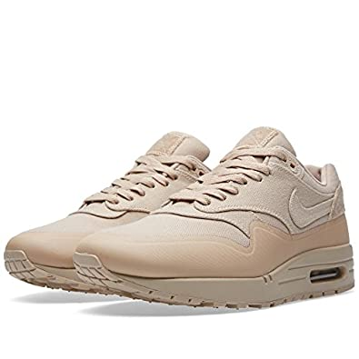 ufrji Nike Air Max 1 Patch Sand Beige SP Canvas VT Trainer Size 6 UK