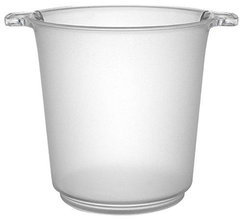 1 Gallon Ice Bucket - Fineline Settings Platter Pleasers Clear 1 Gallon Ice Bucket