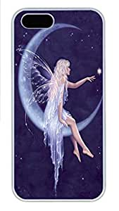 IPhone 5/5S Case Star Birth Fairy PC Hard Plastic Case for iPhone 5/5S Whtie