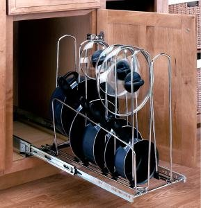 pots and pans cabinet pot and pan organizer cabinet organizers 24864