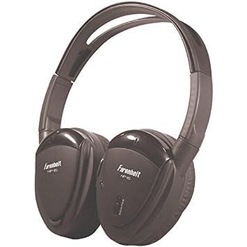 Farenheit HP-11S auricular giratorio único canal inalámbrico por infrarrojos auriculares CustomerPackageType: estándar Embalaje, Modelo: hp11s, para ...