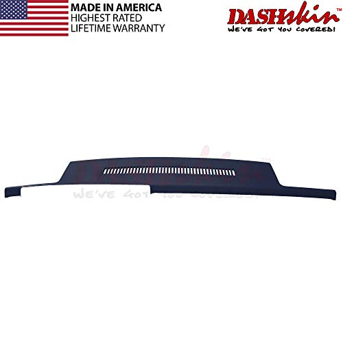 DashSkin Molded Dash Cover Compatible 88-94 GM Trucks in Dark Blue (USA Made)