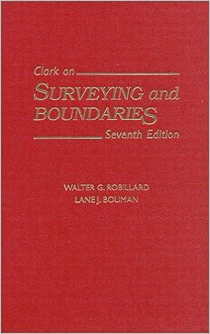 Amazon Com Clark On Surveying And Boundaries 9781558348165