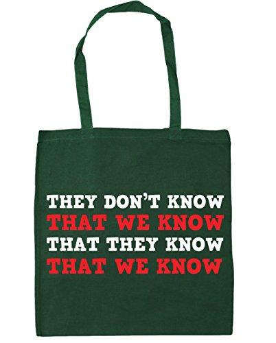 Sabe Sabemos Hippowarehouse Tote Oscuro Compras Que 42 No nbsp;cm X38 De Playa Knowthat nbsp;litros Saben Se Bolsa Nos nbsp;cm 10 Verde r40EAwyrq