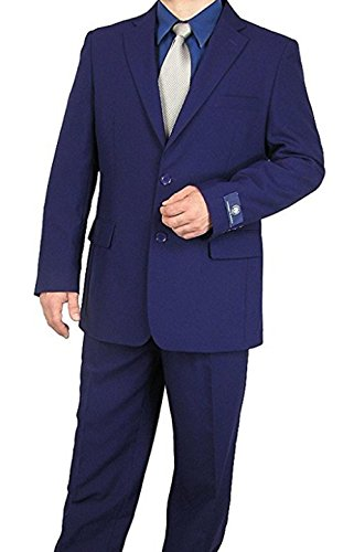 Vittorio St. Angelo Men's 2 Button Single Breasted Dress Suit (Mens Two Button Single)
