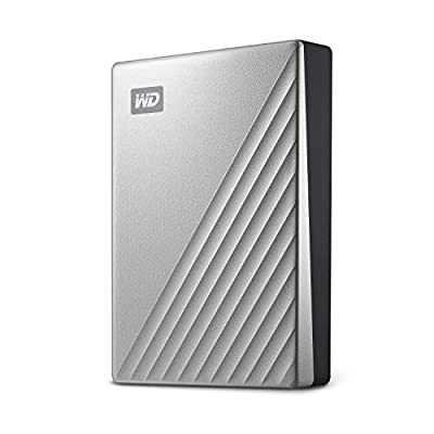 WD My Passport Ultra Silver Portable External Hard Drive from WD