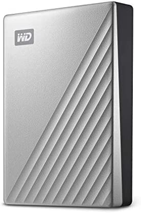 My Passport Ultra Silver Portable External Drive USB C product image