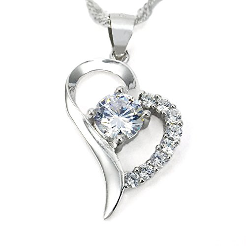 sjs-collection-forever-in-my-heart-sterling-silver-pendant-necklace-w-9-aaa-cubic-zirconia-diamonds-
