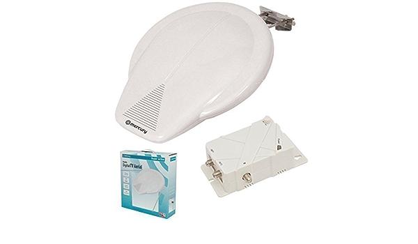 exterior Amplificado Digital Antena de TV para caravana barco ...