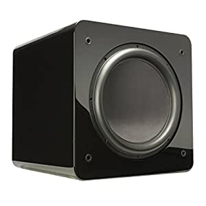SVS SB13-Ultra - 13.5-inch, 1000 Watt DSP Controlled, Sealed Box Subwoofer with Variable Tuning (Piano Gloss)