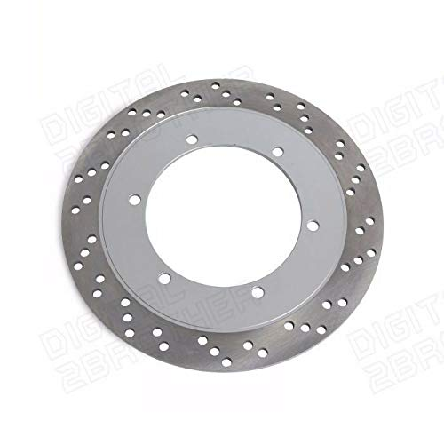 FidgetGear Rear Brake Rotor for Honda VTX 1300 S3//S4//S5//S6//S7//S8 03-08