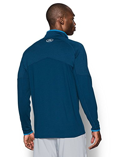 Under Armour Men's No Breaks Run 1/4 Zip, Blackout Navy /Reflective, Small by Under Armour (Image #1)
